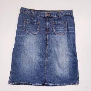 Abercrombie and Fitch Denim Jean Skirt